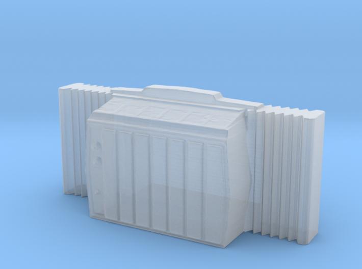 Window AC Unit - N 160:1 Scale 3d printed