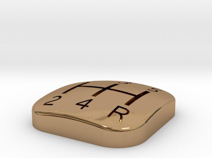 300ZX Manual Shifter pattern insert. 5 Speed. 3d printed