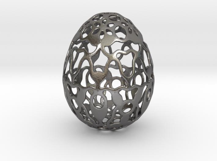 Screen - Decorative Egg - 2.3 inch 3d printed
