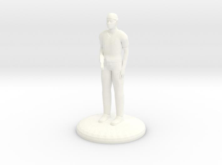Doctor Bonesaw 27mm version 3d printed