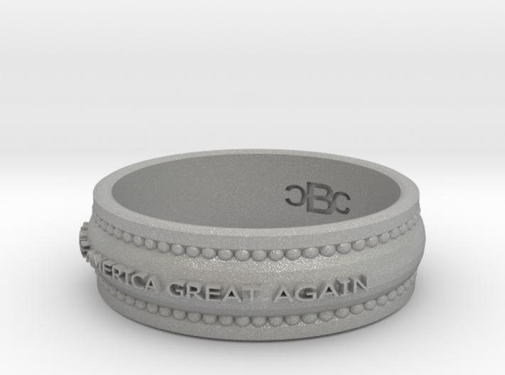 Size 10 Make America Great Again Ring 3d printed