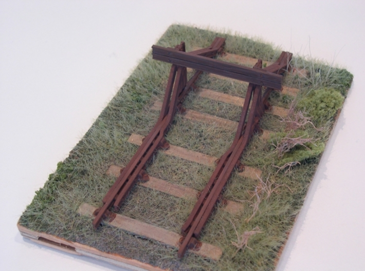 GWR Buffer Stop 3d printed