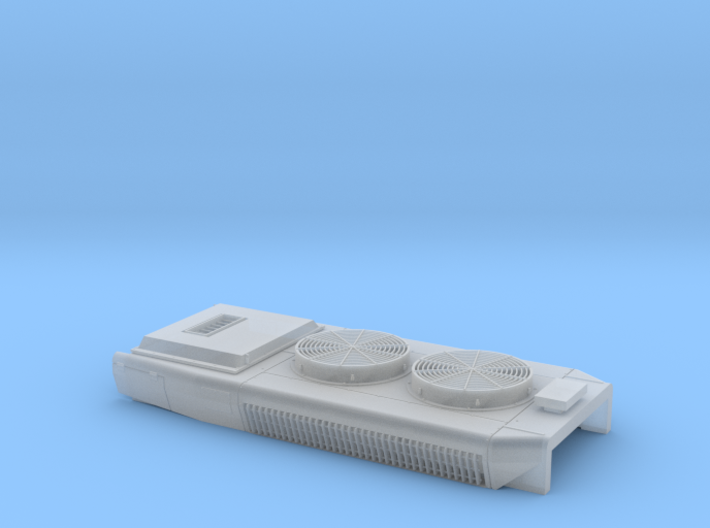 DB0018 CPR SD40-2 DB, Q Exhst 1/87.1 3d printed