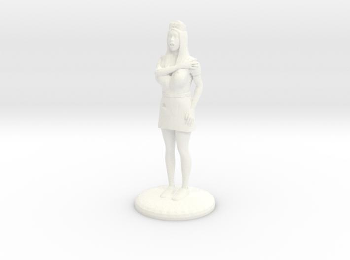 Terrrified Nurse 28 mm 3d printed