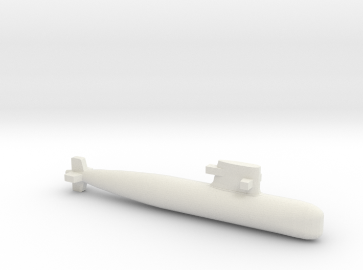 PLA[N] 039G Submarine, Full Hull, 1/1800 3d printed