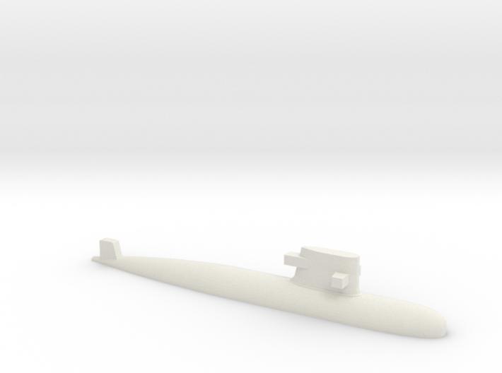 PLA[N] 039G Submarine, 1/1800 3d printed