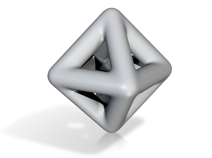 DRAW geo - diamond 3d printed