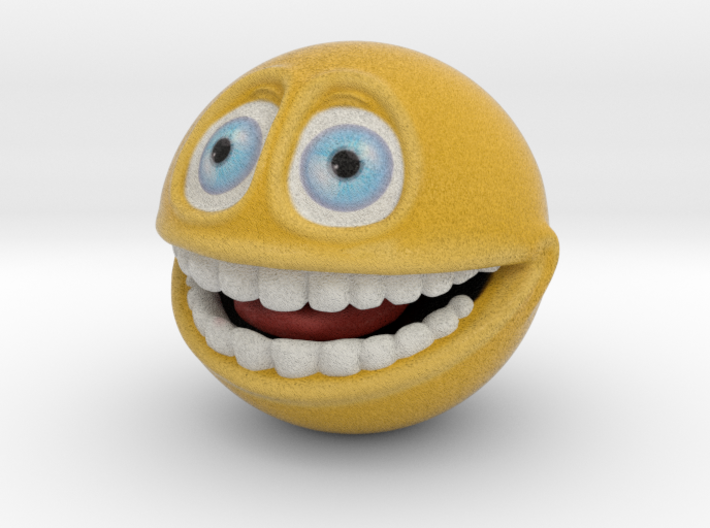 Emoji Smiley Face - Smile (small) 3d printed Smiley Face Emoticon, Emoji - Smile (small)