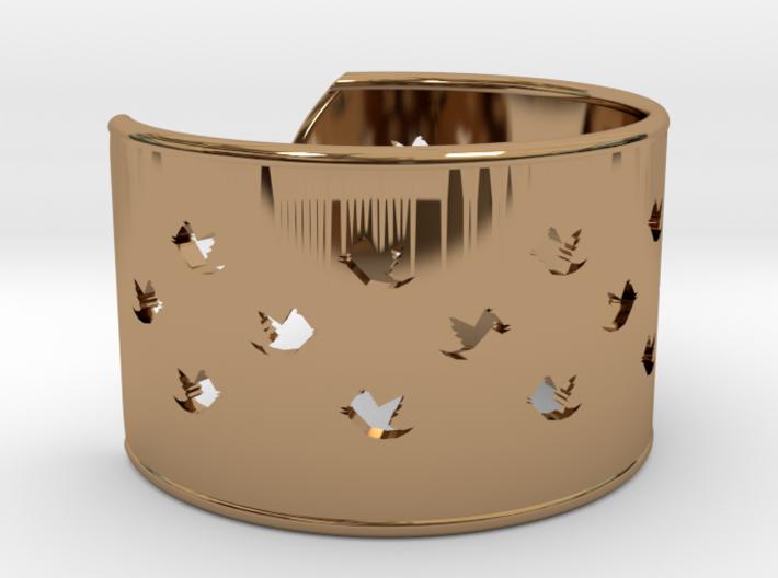 Bird Bracelet XXL Ø78 Mm/3.07 inch 3d printed