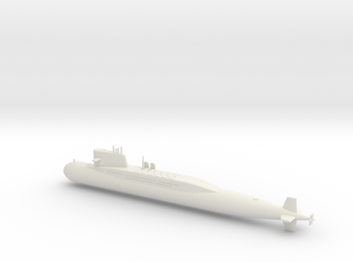 1/600 Type 092 (Xia Class) SSBN 3d printed
