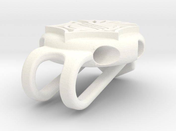 Golf Tee Hat Clip 3d printed