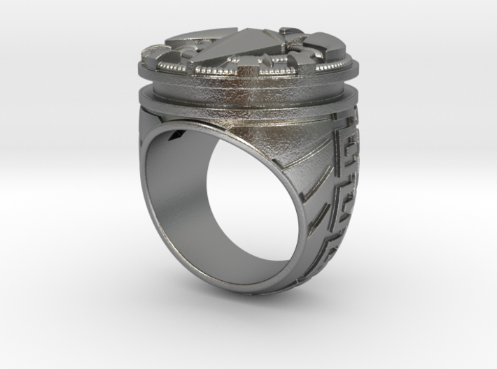 Black Crow Ring - Size 11 1/2 (21. 08 mm) 3d printed