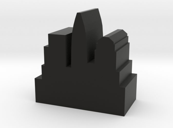 Game Piece, City Token - Modern v2 3d printed
