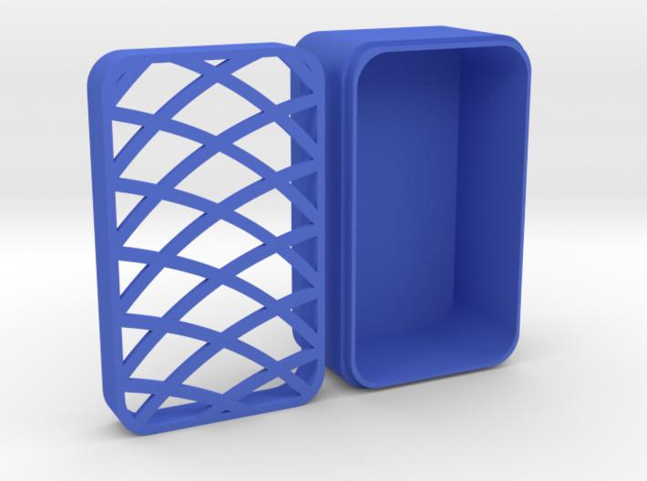 Cufflink box pattern one 3d printed