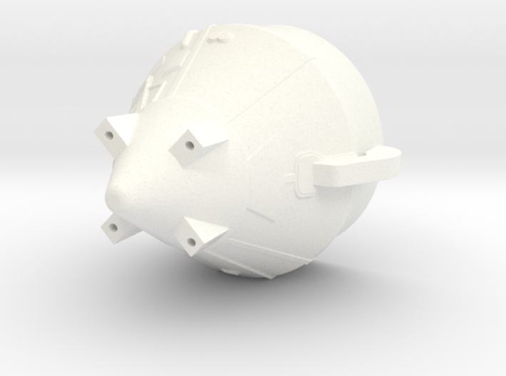 1:100 Scale Apollo BPS 3d printed