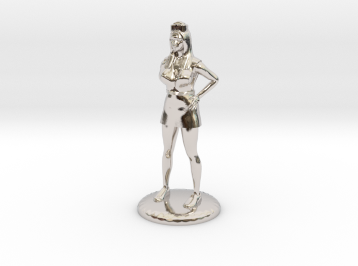 Nurse with Needle - 28 mm version 3d printed
