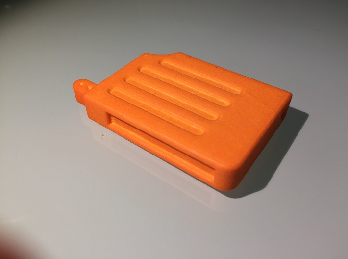 Prop Holotape, Orange Part, 2 of 2 3d printed Photo of finished part