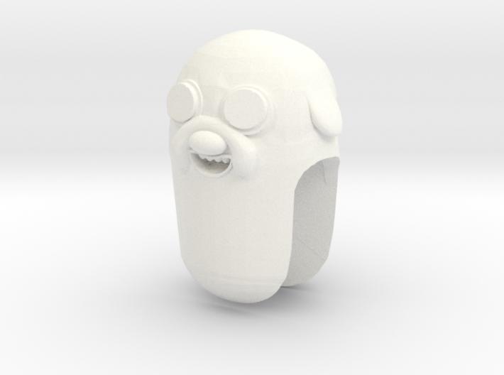Custom Jake The Dog Inspired Lego 3d printed