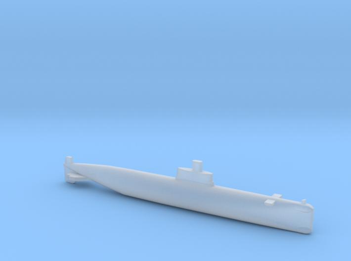 PLA[N] 035 SSK, Full Hull, 1/1800 3d printed
