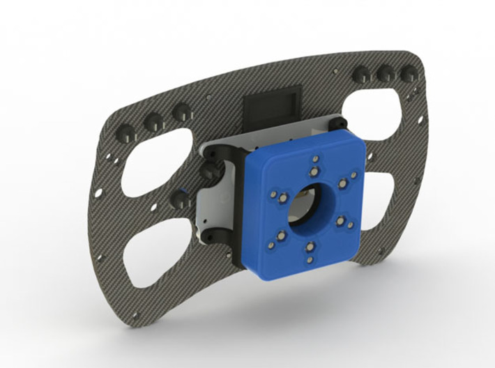Fanatec 52mm to 70mm 12.7mm Adpater 3d printed