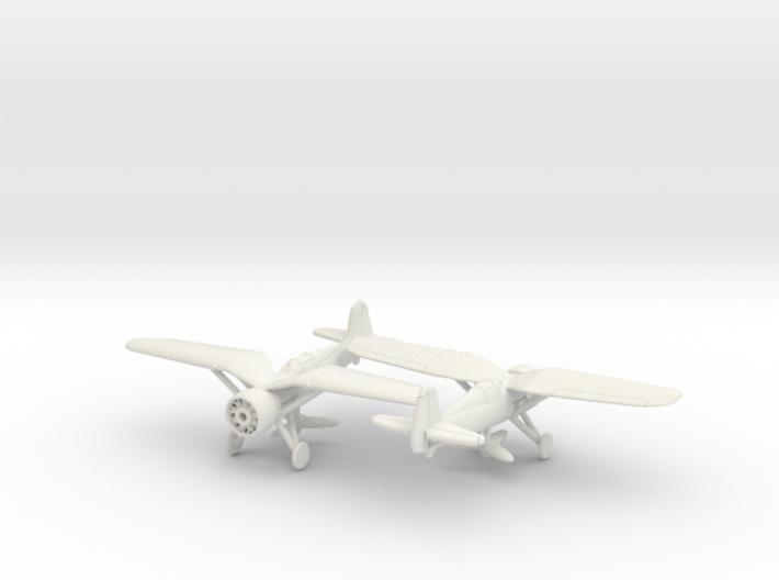 1/200 PZL P-24 no spats 3d printed