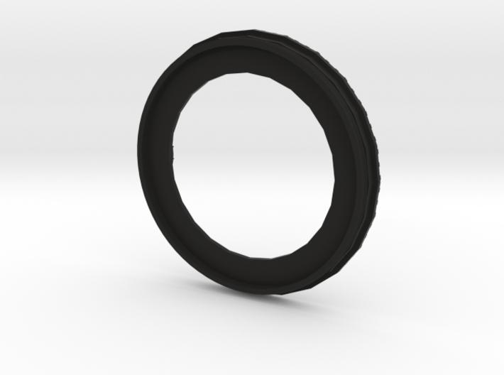Bokeh Disk Holder (49mm filter thread, 40mm disk) 3d printed