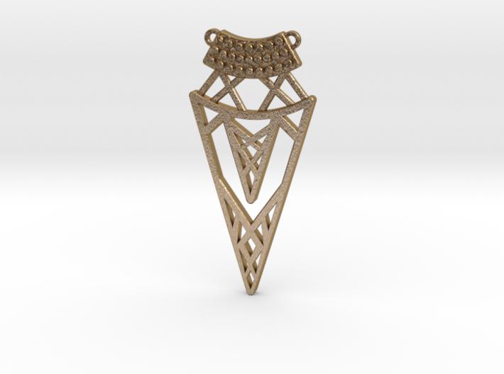 Cleo Pendant 3d printed