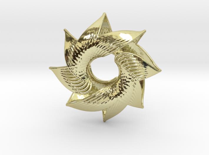 Sun Wind 3d printed