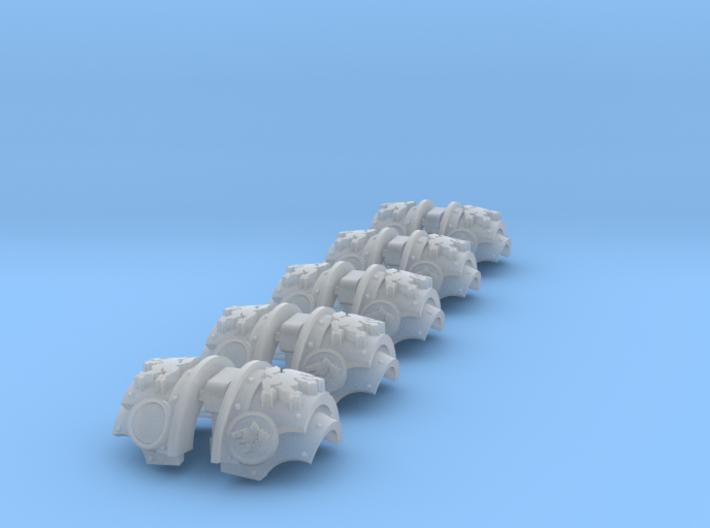 Wolf Legion 2 - T:2a Cataphractii Shoulder Sets 3d printed