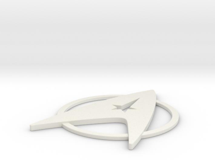 Starfleet Admiral's Insignia Pin (TMP era) 3d printed
