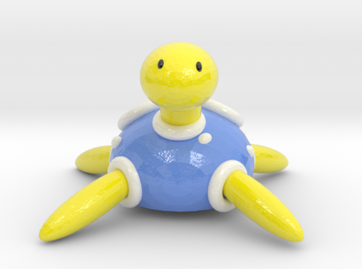 Shiny Shuckle 3d printed