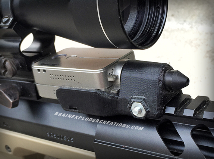 RunCam2 Zoom Lens Mount (Pinhole Lenses 11mm D) 3d printed