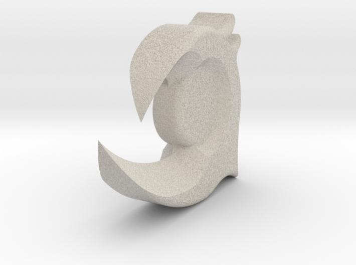 Pendant 3d printed