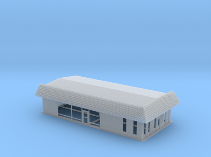 Suburban Propane Office Z Scale 3d printed
