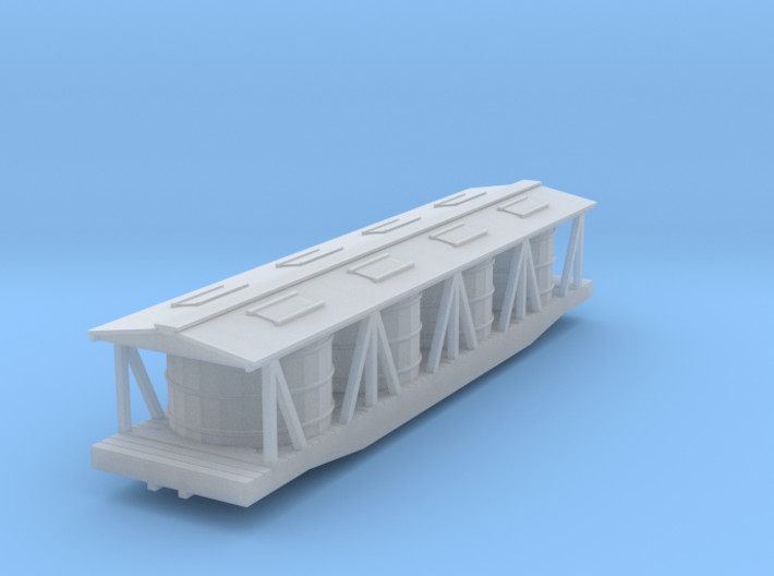 Pickle Tank Car - Nscale 3d printed
