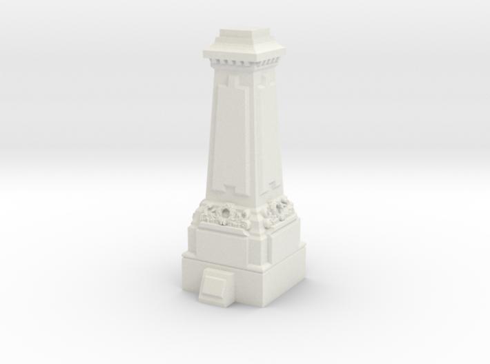 N Gauge Statue Plinth 3d printed