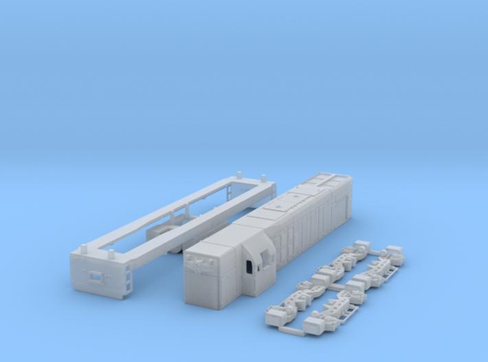 G12 Locomotive 1:120 Scale 3d printed