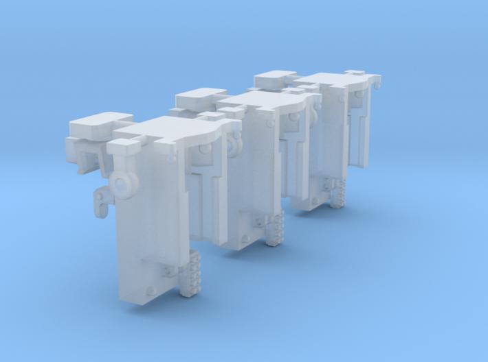 Anbaubock 3x 3d printed