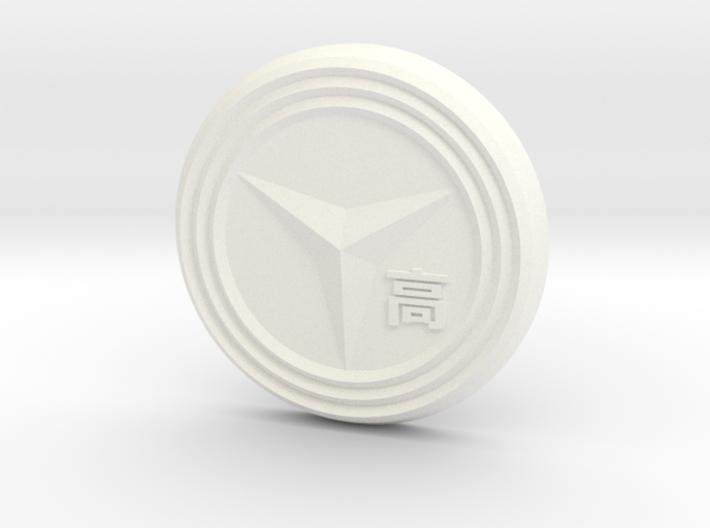 Yasogami High Button 3d printed