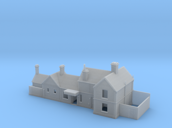 Freshwater (Isle of Wight) Station Building 2mm/ft 3d printed