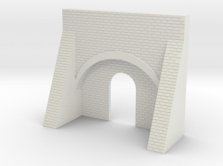 N Gauge Brick Kiln Front 3d printed