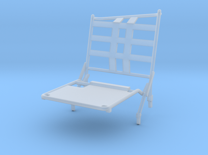 02A-LRV - Closed Left Seat 3d printed