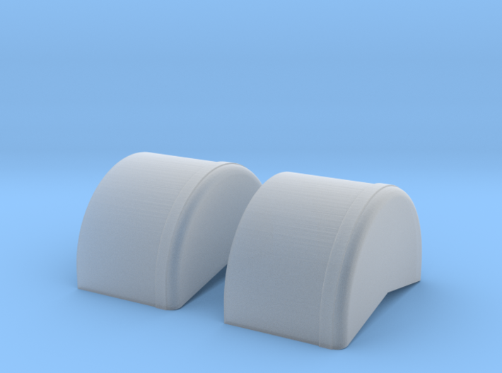 1/64 40 Inch Wheel Tubs 3d printed