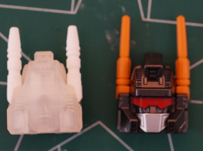 Calculating Giant's pointy ears 3d printed