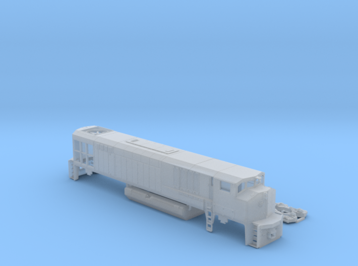HR-616 N Scale 3d printed