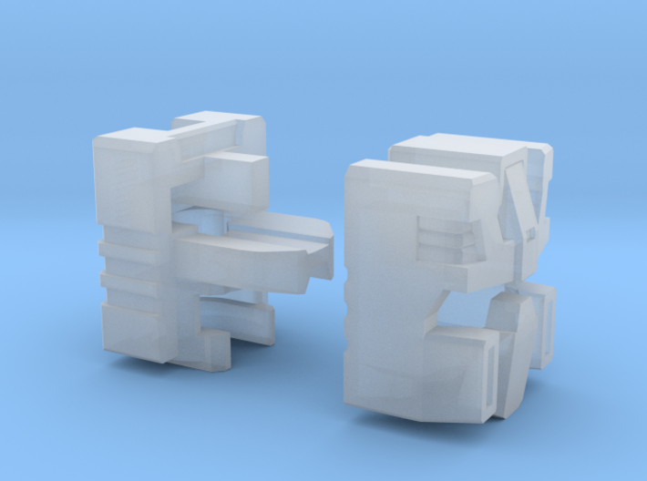 Combat Tank Head Energon Version 3d printed