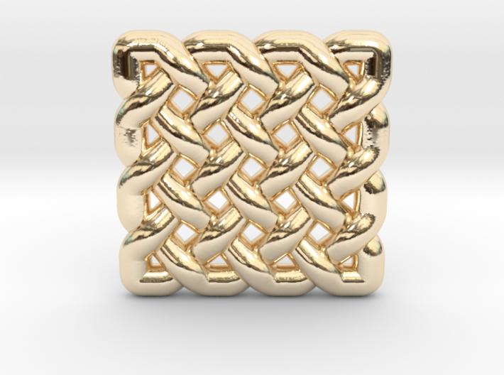 0509 Celtic Knotting - Regular Grid [4,4] 3d printed