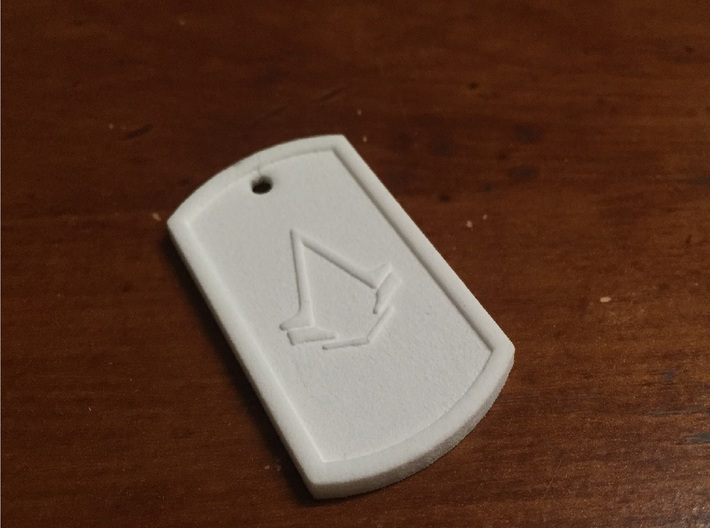 Dogtag - Assassin's Creed Syndicate 3d printed