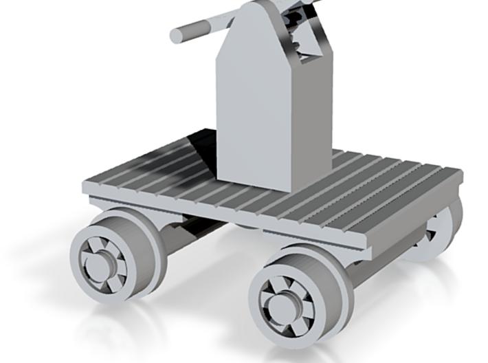 Hand Car - N 160:1 Scale 3d printed