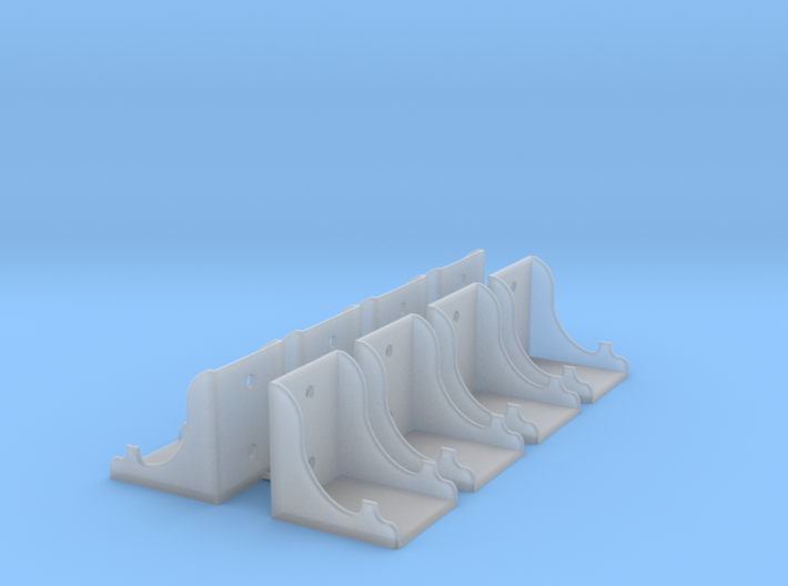 Stevens Tender frame brackets - 8 3d printed